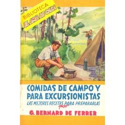 COMIDAS DE CAMPO Y PARA EXCURSIONISTAS