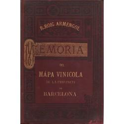 MEMORIA DEL MAPA VINÍCOLA DE LA PROVINCIA DE BARCELONA