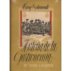 HISTORIA DE LA GASTRONOMIA. DE LÚCULO A ESCOFFIER