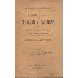 FABRICACIÓN DE LAS CERVEZAS Y GASEOSAS
