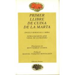 PRIMER LLIBRE DE CUINA DE LA MARTA. CUINA FÀCIL Y LLEUGERA