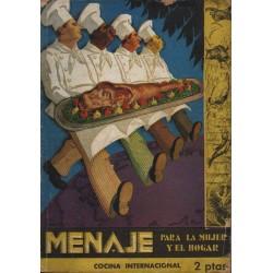 MENAJE. REVISTA MENSUAL DE COCINA Y  HOGAR