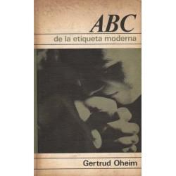 ABC DE LA ETIQUETA MODERNA