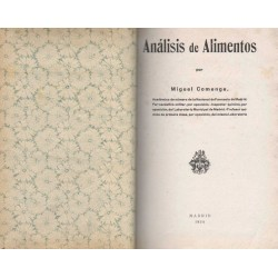 ANÁLISIS DE ALIMENTOS