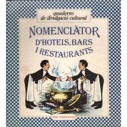 NOMENCLÀTOR D'HOTELS, BARS I RESTAURANTS