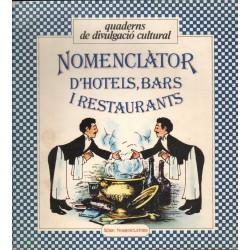 NOMENCLÀTOR D'HOTELS, BARS I RESTAURANTS