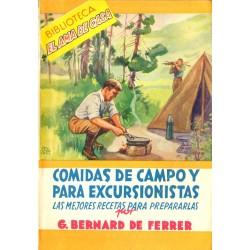 COMIDAS DE CAMPO Y PARA ESCURSIONISTAS