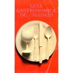 GUIA GASTRONOMICA DE MADRID