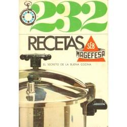 232 RECETAS SEB MAGEFESA