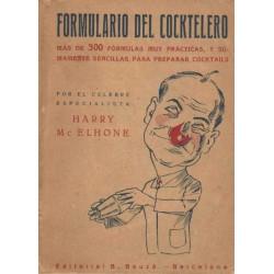 FORMULARIO DEL COCKTELERO