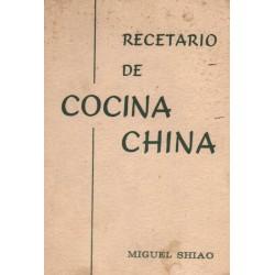 RECETARIO DE COCINA CHINA