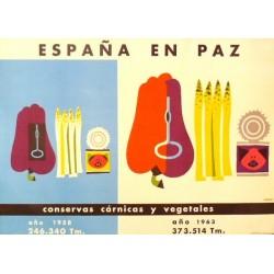ESPAÑA EN PAZ CONSERVAS CÁRNICAS Y VEGETALES