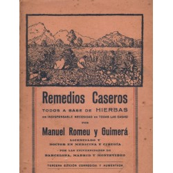 REMEDIOS CASEROS TODOS A BASE DE HIERBAS