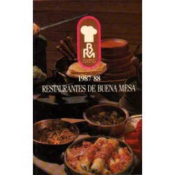 RESTAURANTES DE BUENA MESA. 1987/88