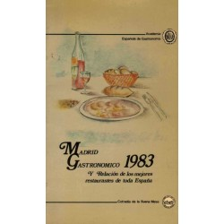 MADRID GASTRONOMICO 1983
