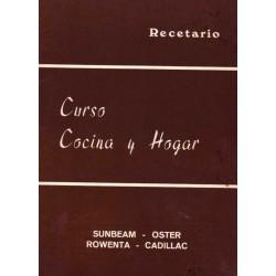 CURSO COCINA Y HOGAR. SUNBEAM, OSTER, ROWENTA, CADILLAC