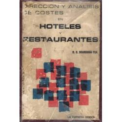 HOTELES Y RESTAURANTES (DIRECCION Y ANALISIS DE COSTES)