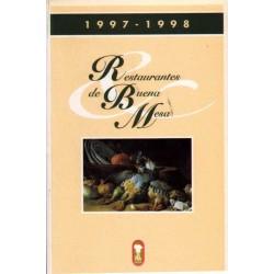 RESTAURANTES DE BUENA MESA. 1997/98