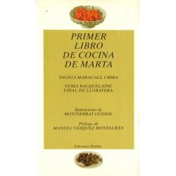 PRIMER LIBRO DE COCINA DE MARTA