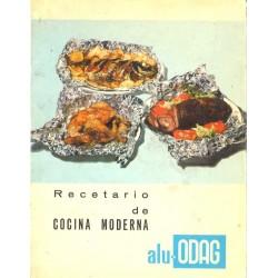 RECETARIO DE LA COCINA MODERNA ALU-ODAG