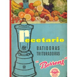 "RECETARIO BATIDORAS TRITURADORAS  ""BERRENS"""