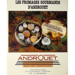 ANDROUET. LES FROMAGES GOURMANDS