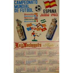 ANIS MACHAQUITO. CAMPEONATO MUNDIAL FÚTBOL 1982