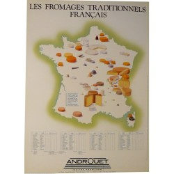 LES FROMAGES TRADITIONNELS FRANÇAIS