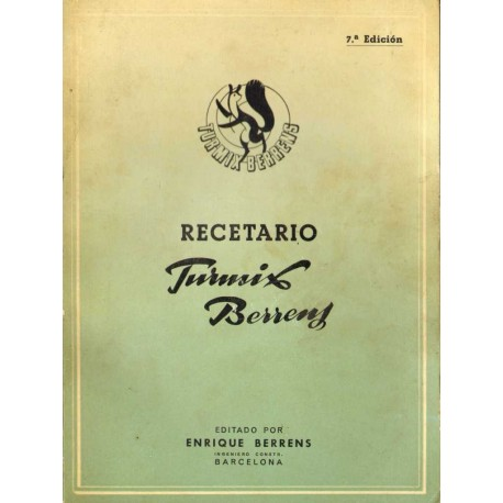 "RECETARIO TURMIX  ""BERRENS"""