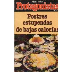 POSTRES ESTUPENDOS DE BAJAS CALORÍAS