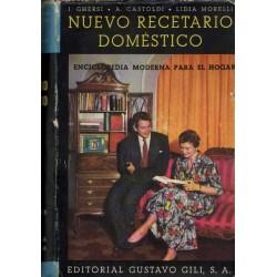 NUEVO RECETARIO DOMÉSTICO. COLECCIÓN DE 8355 RECETAS...