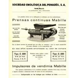 PRENSAS CONTINUAS MABILLE