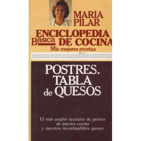 POSTRES. TABLA DE QUESOS