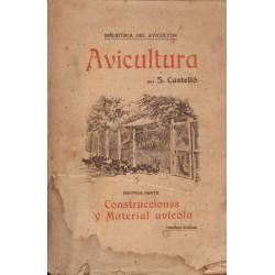 AVICULTURA. SEGUNDA PARTE : CONSTRUCCIONES Y MATERIAL AVÍCOLA