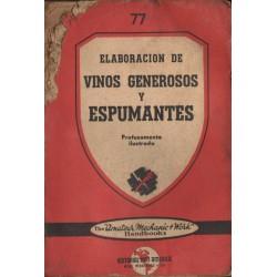 ELABORACIÓN DE VINOS GENEROSOS Y ESPUMANTES