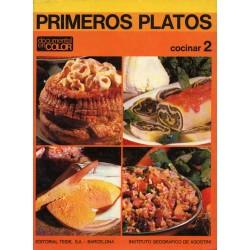 PRIMEROS PLATOS. COCINAR 2