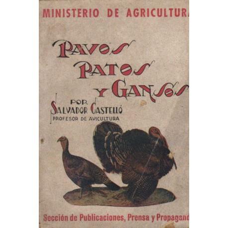 PAVOS, PATOS Y GANSOS