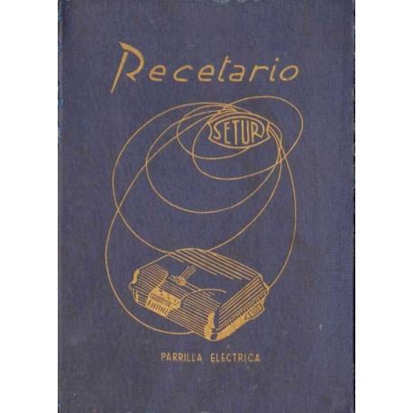 RECETARIO PARA LA PARRILLA ELÉCTRICA SE-TUR
