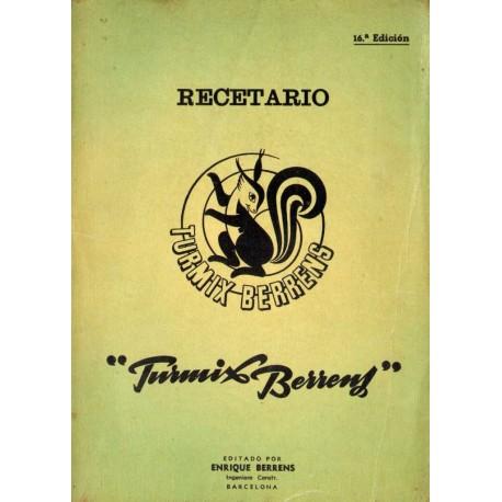 "RECETARIO ""TURMIX BERRENS""."