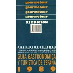 GUÍA 1980 GASTRONÓMICA Y TURÍSTICA DE ESPAÑA 1980