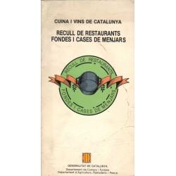 RECULL DE RESTAURANTS, FONDES I CASES DE MENJARS