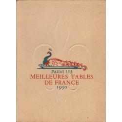 PARMI LES MEILLEURES TABLES DE FRANCE. 1950