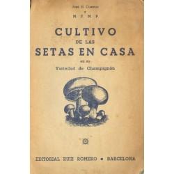 EL CULTIVO DE LAS SETAS EN CASA EN SU VARIEDAD DE CHAMPIGNON DE COUCHE