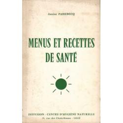MENUS ET RECETTES DE SANTÉ