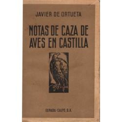 NOTAS DE CAZA DE AVES EN CASTILLA. FANFARRIA EN TONO MENOR
