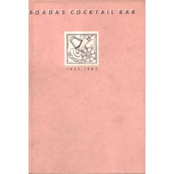 BOADAS COCKTAIL BAR. 1933-1983