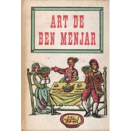 ART DE BEN MENJAR. LLIBRE CATALÀ DE CUINA