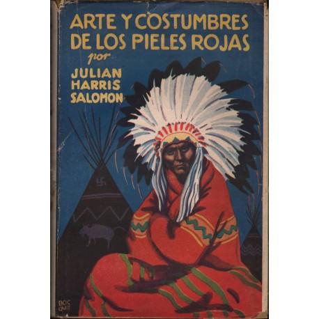 ARTE Y COSTUMBRES DE LOS PIELES ROJAS