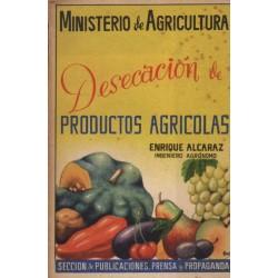 DESECACIÓN DE PRODUCTOS AGRÍCOLAS