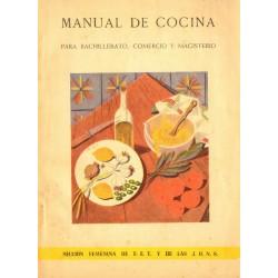 MANUAL DE COCINA PARA BACHILLERATO, COMERCIO Y MAGISTERIA